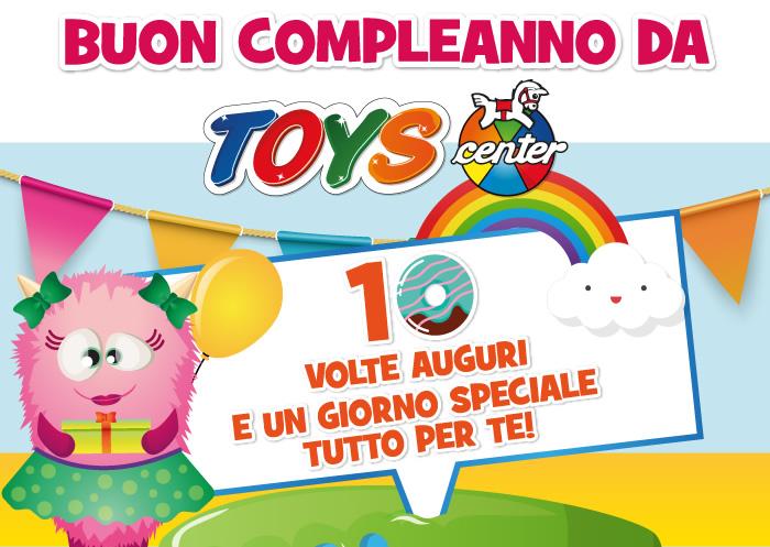 buon compleanno da Toys Center