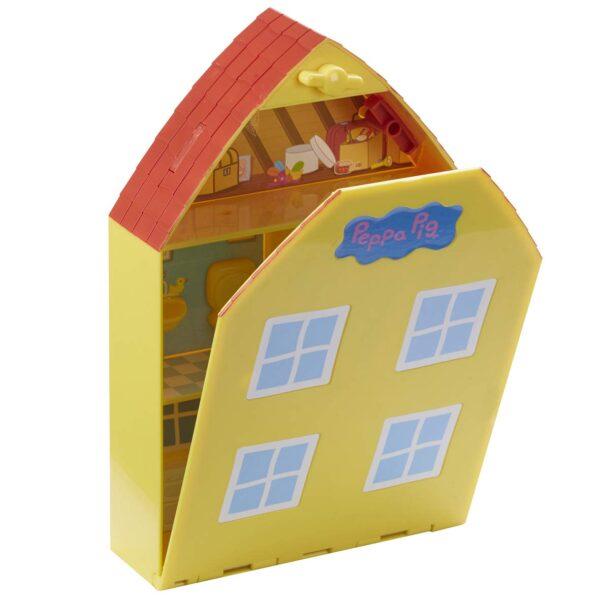 Peppa Pig – La Casa di Peppa con Giardino + 2 Personaggi