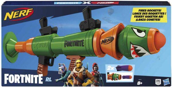 Nerf Fortnite RL Blaster con Dardi