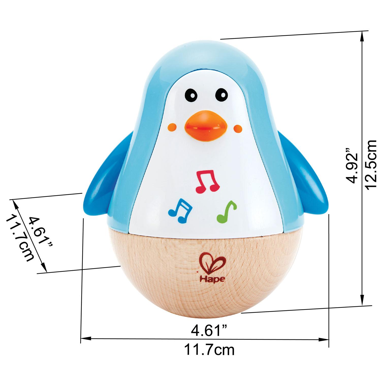 Giroscopio musicale pinguino -