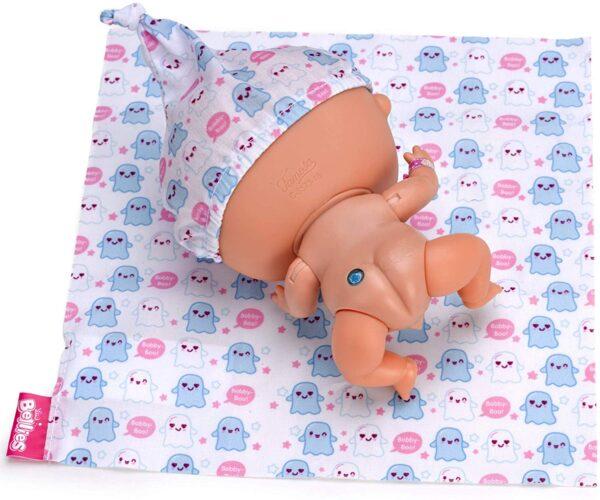 The Bellies- Bobby-Boo Bambola Interattiva, 700014566 - Bambolotti e accessori