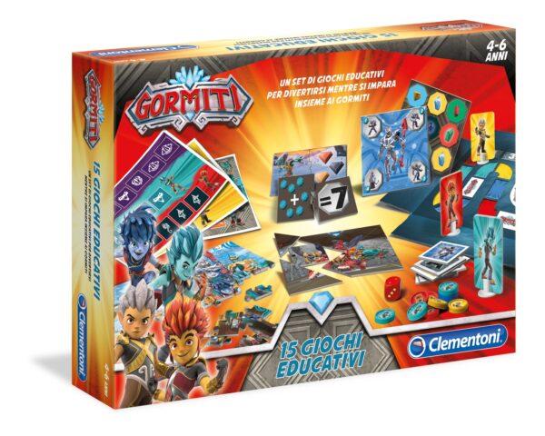 Gormiti - 15 Giochi Educativi