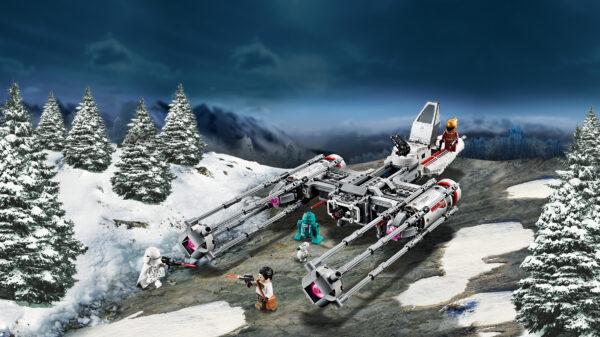 LEGO® Star Wars™  LEGO 75249 - Y-Wing Starfighter™ della Resistenza
