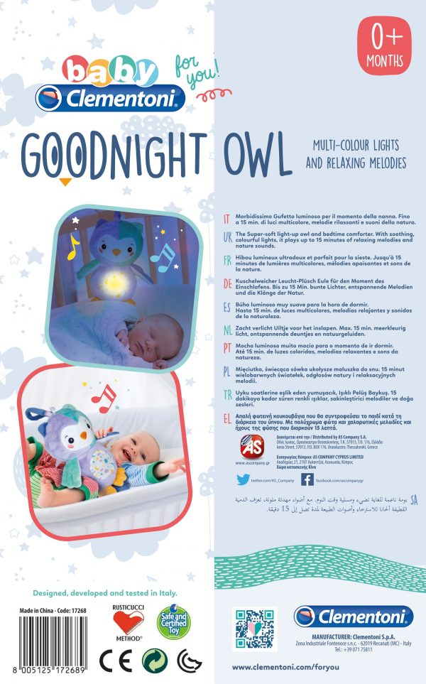 Night Owl Baby Clementoni