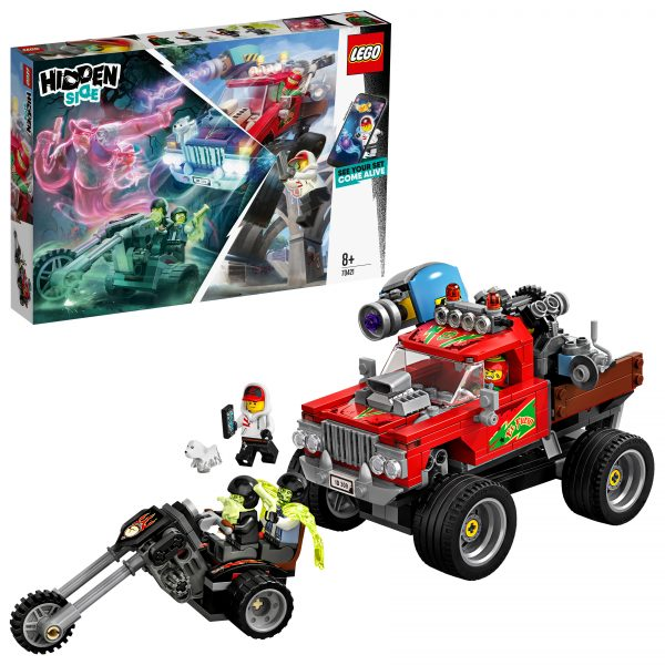LEGO - HIDDEN SIDE   70421 - Hidden Side Lo Stunt Truck di El Fuego