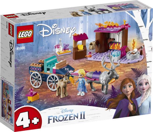 41166 - L'avventura sul carro di Elsa LEGO® Disney Frozen