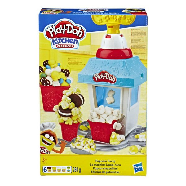 Play-Doh- Kitchen Creations Popcorn Party Set - Cucine e accessori per cucina