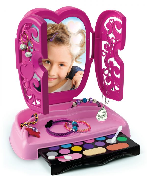 The make-up mirror