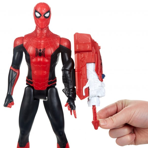 Spider-Man: Far From Home - Titan Hero Power FX (personaggio 30cm ispirato al film) - Action figures
