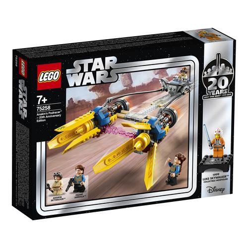 LEGO Star Wars Sguscio di Anakin – Edizione 20° Anniversario - 75258 - Star Wars - Costruzioni