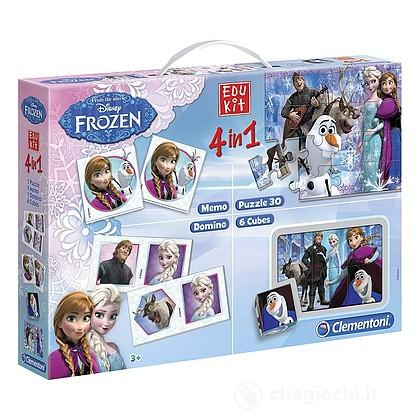 Edukit 4 in 1 Disney Frozen 2 - Giochi educativi, musicali e scientifici
