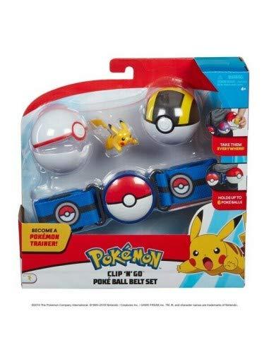 Pokemon Set Cintura 2 CLIP'N GO Serie 2