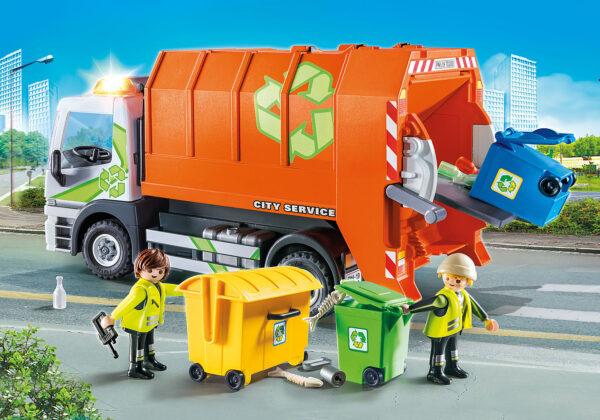 Playmobil Camion Raccolta Differenziata