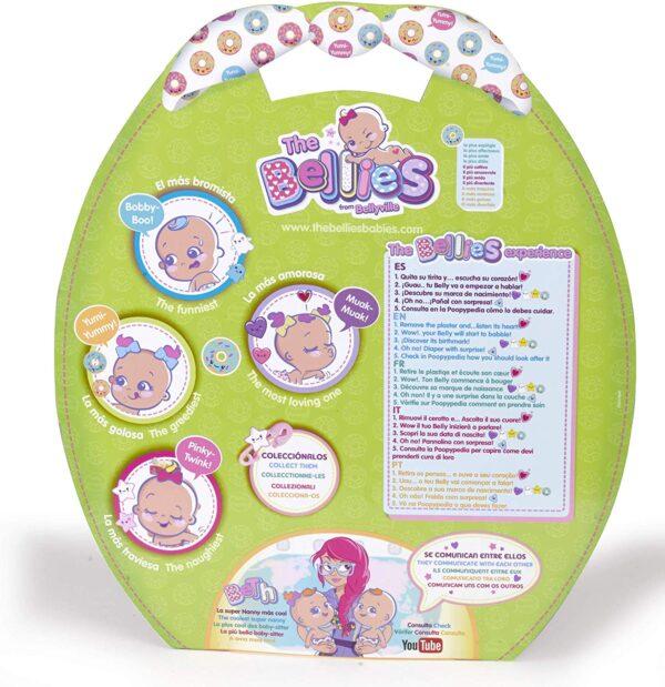The Bellies- Yumi-Yummy Bambola Interattiva, 700014565