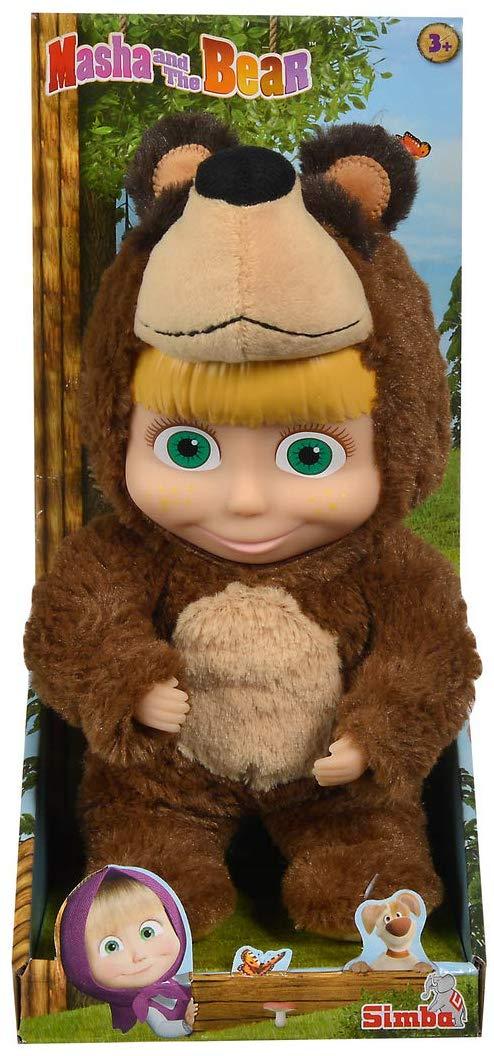 Bambola Masha con Costume Orso - Altre bambole e accessori