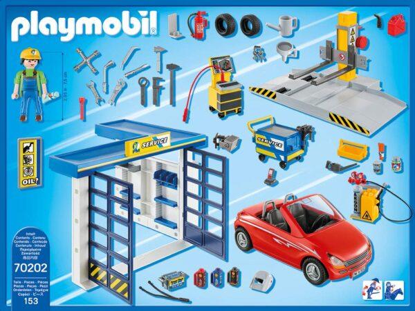 Playmobil 70202 - Officina Del Meccanico