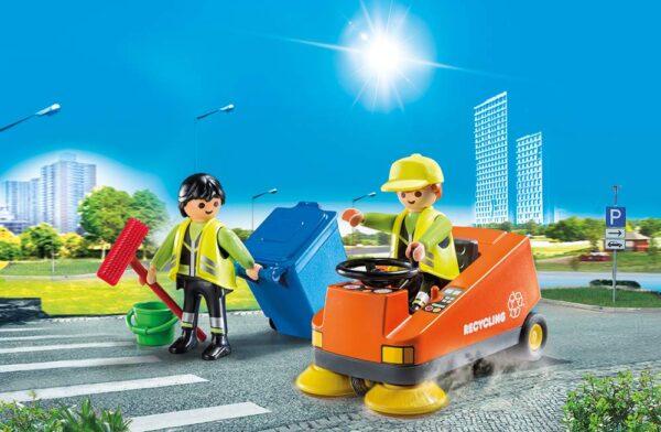 Playmobil 70203 - Pulizia Strade