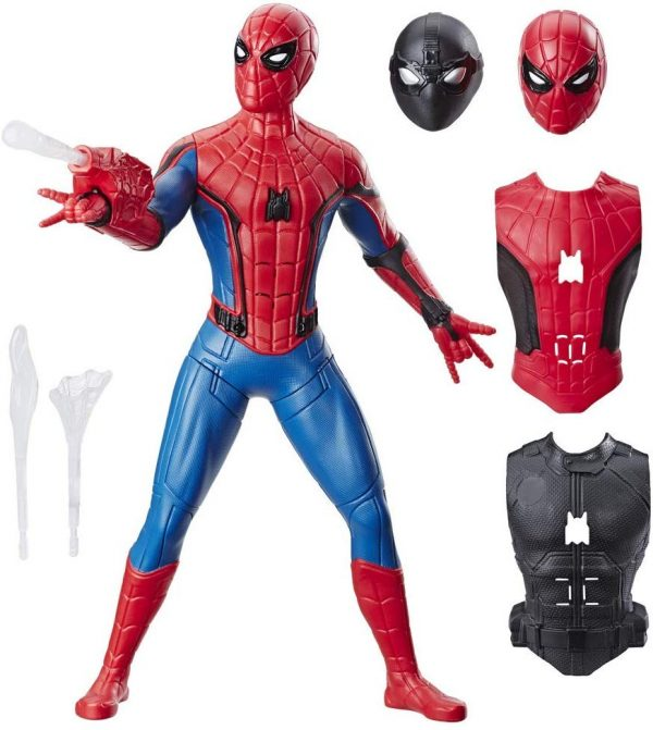 Spiderman 3 in 1 con vestiti intercambiabili e accessori
