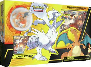 Pokemon Reshiram & Charizard - Collezione con Statuina