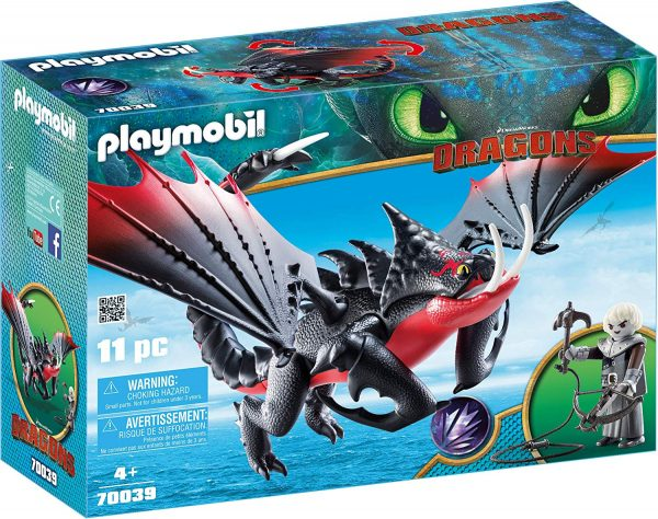 Playmobil 70039 - Pinzamortale & Grimmel - Costruzioni