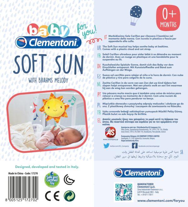 Soft Sun Baby Clementoni
