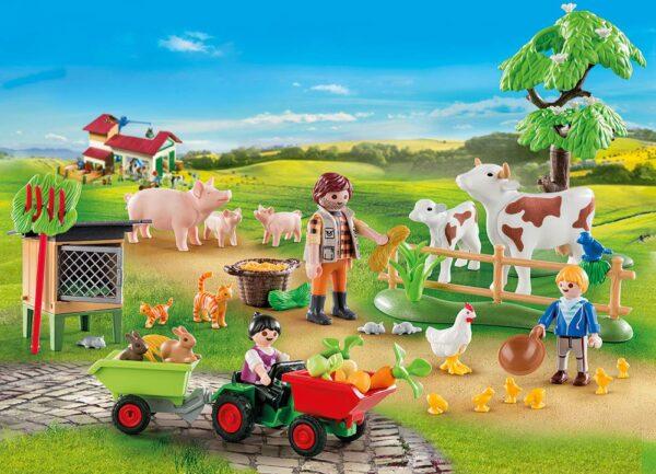 Playmobil 70189 - Calendario dell'Avvento - La Fattoria - Costruzioni