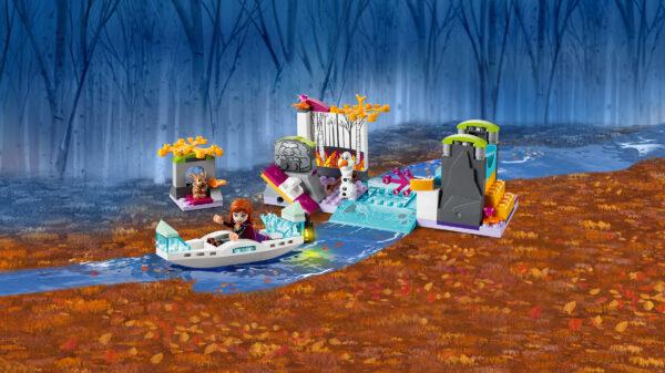 LEGO® Disney Frozen  LEGO 41165 - Spedizione sulla canoa di Anna
