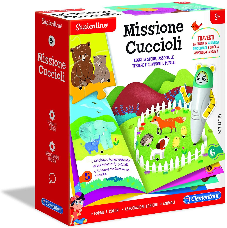 Clementoni - 16188 - penna trasformabile - missione cuccioli -