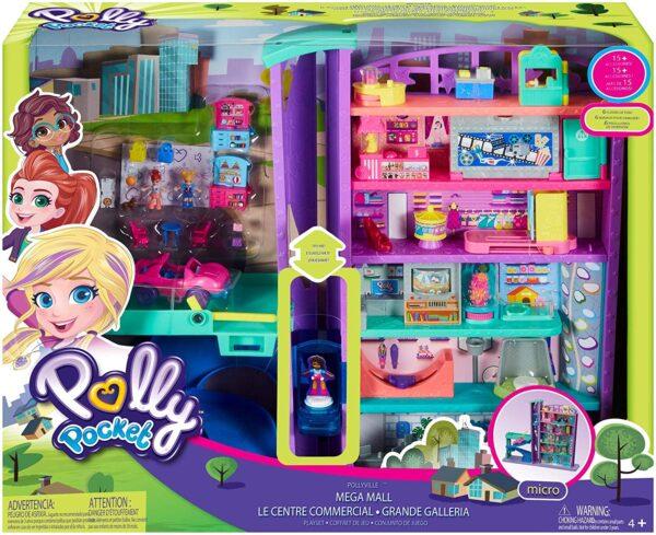 Polly Pocket - Mega Mall - Case delle bambole