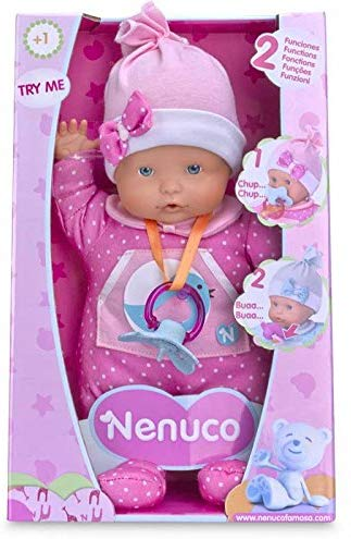 Nenuco Famosa 700013380 - Bambola Piange, Colori Assortiti