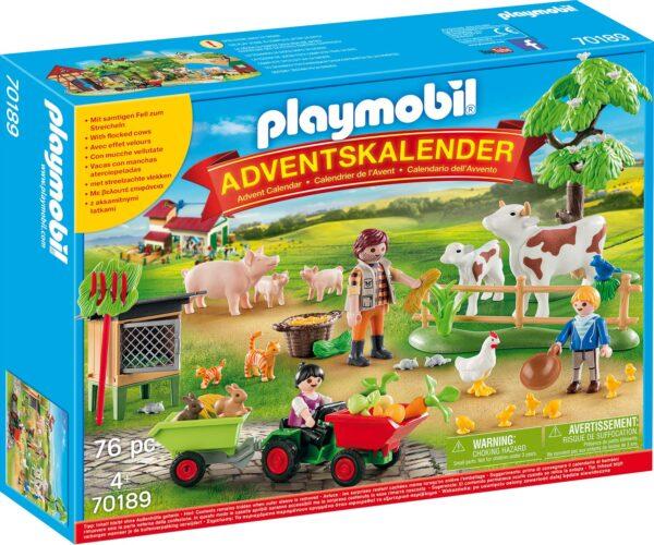 Playmobil 70189 - Calendario dell'Avvento - La Fattoria