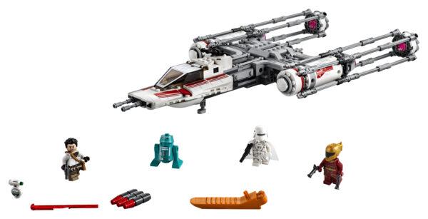 LEGO 75249 - Y-Wing Starfighter™ della Resistenza    LEGO® Star Wars™