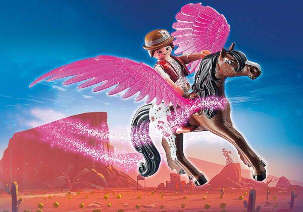 PLAYMOBIL: THE MOVIE 70074 - Marla E Del Con Cavallo Alato