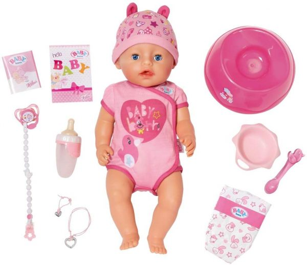 Baby Born Girl Soft Touch