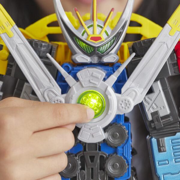 Power Rangers Beast Morphers - Beast-X Ultrazord (con suoni e frasi) - Action figures