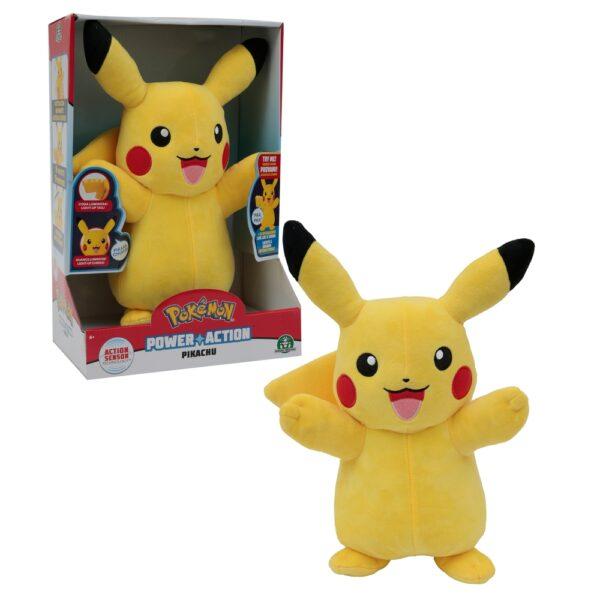 Pokemon Pikachu Interattivo Luci e Suoni - Peluche interattivi