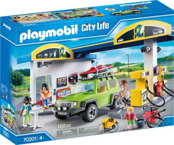 PLAYMOBIL 70201 - Stazione di Servizio - Costruzioni