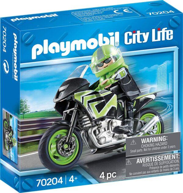 Playmobil 70204 - Motociclista
