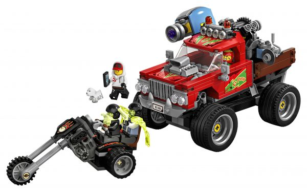 70421 - Hidden Side Lo Stunt Truck di El Fuego    LEGO - HIDDEN SIDE