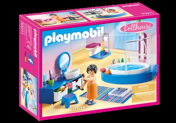 PlayMobil Dolhouse Bagno con Vasca - Costruzioni