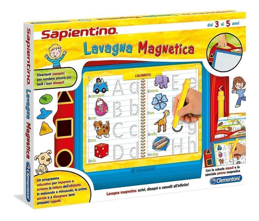 Clementoni - 12037d - sapientino - lavagna magnetica -