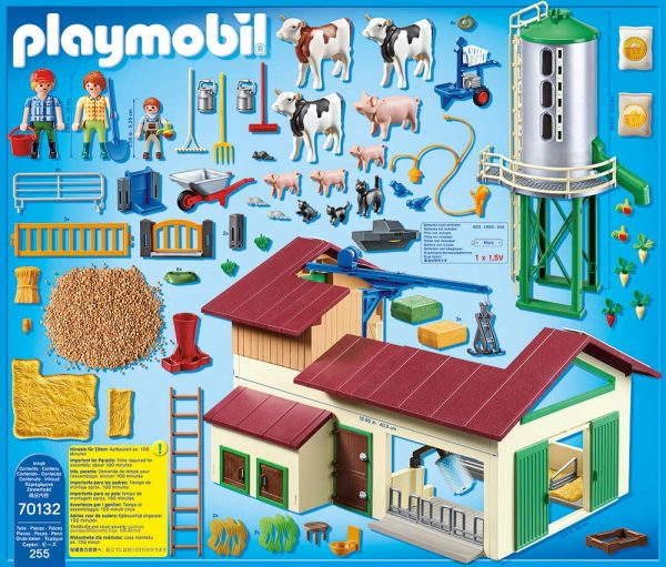 Playmobil 70132 - Azienda Agricola con Animali