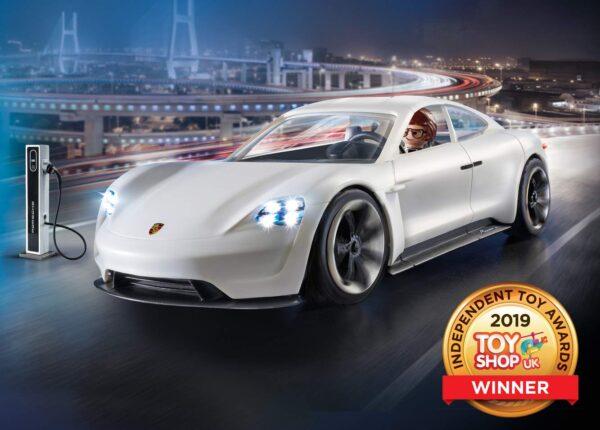 PLAYMOBIL: THE MOVIE 70078 - Porsche Mission-E Di Rex Dasher