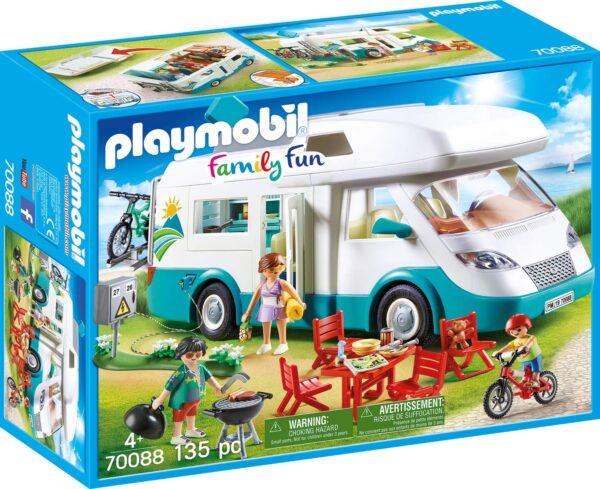 Playmobil 70088 - Camper con Famiglia in Vacanza