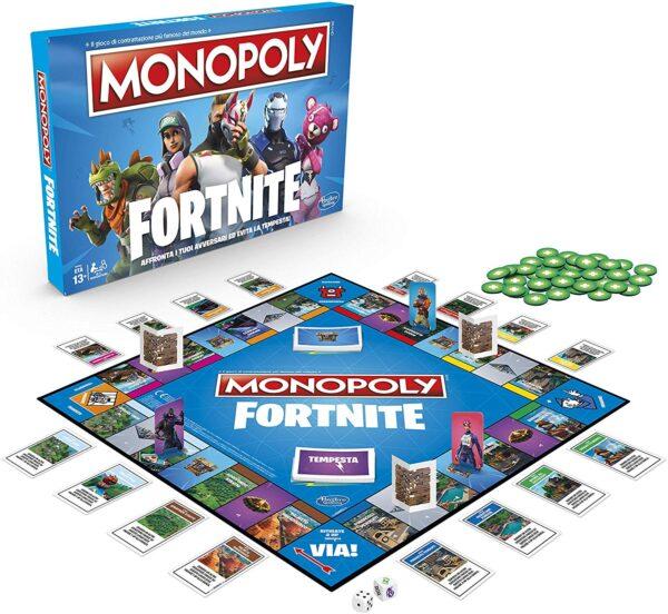 Monopoly Edizione Fortnite