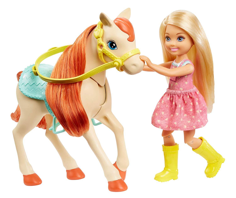NUOVO Bambine My Horse /& Pony Playset Giocattolo Regalo Set