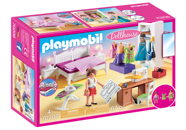 PlayMobil Dolhouse Camera da letto