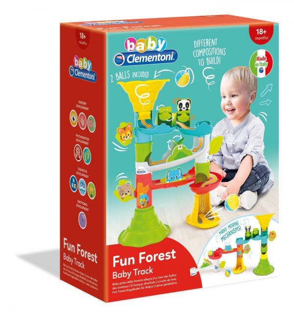 Clementoni - 17309 - Fun Forest Baby Clementoni