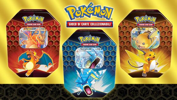 Cofanetto Pokemon Tin Box Da Collezione Destino Sfuggente Charizard GX