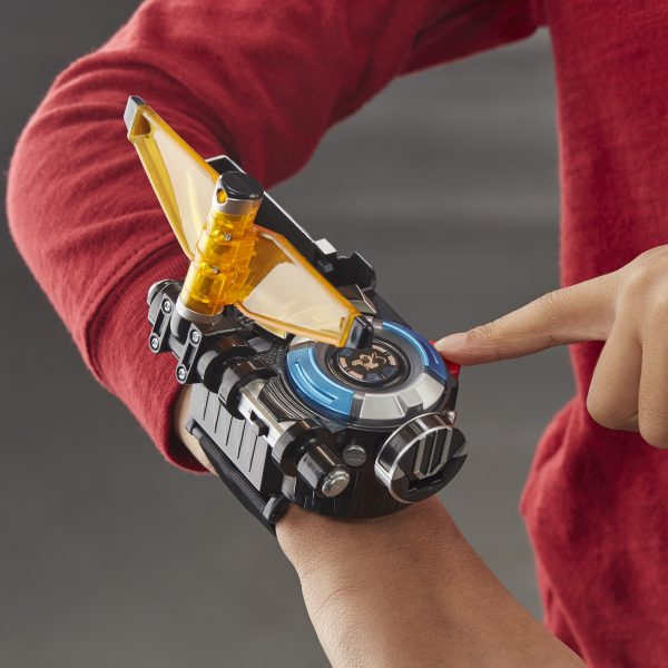 Power Rangers Beast Morphers - Beast-X Morpher con luci e suoni (braccialetto per trasformazione, gioco di ruolo)